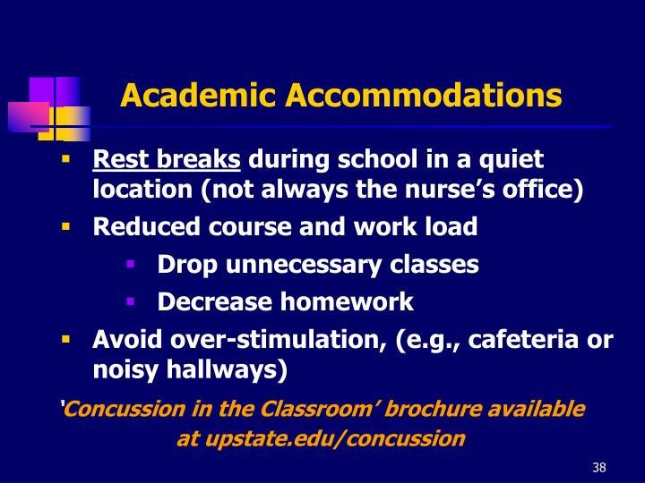 Academic Accommodations