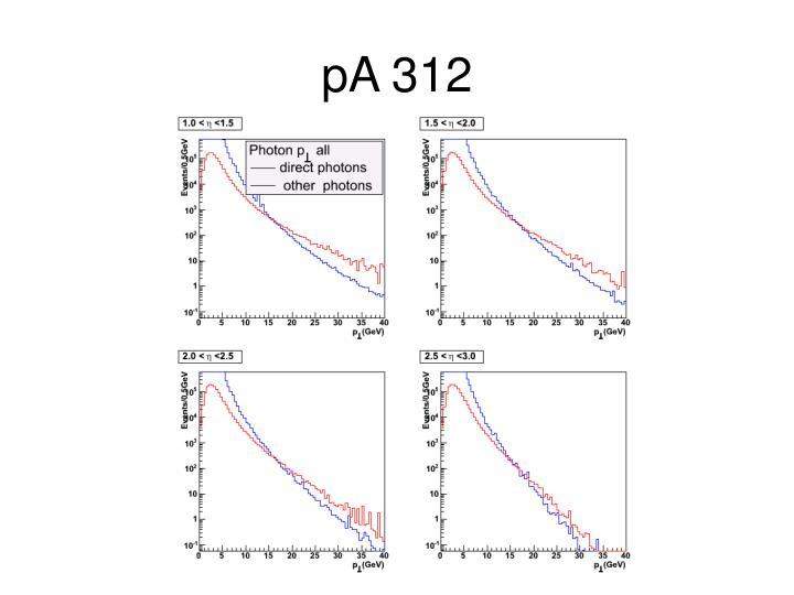 pA 312