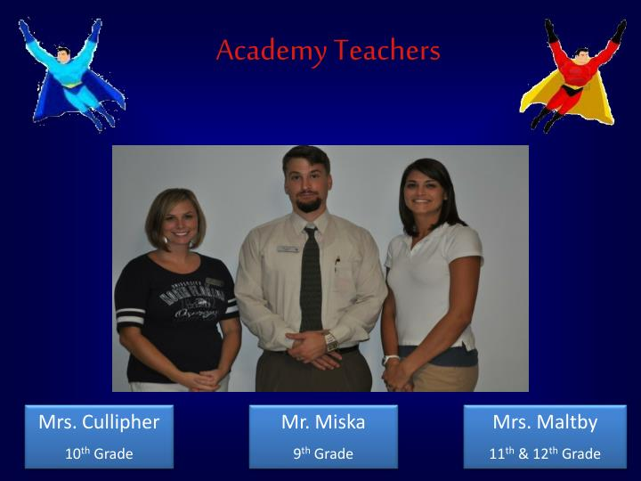 Academy Teachers