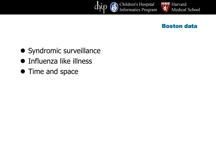 Boston data