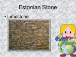 estonian stone