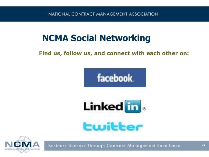 NCMA Social Networking