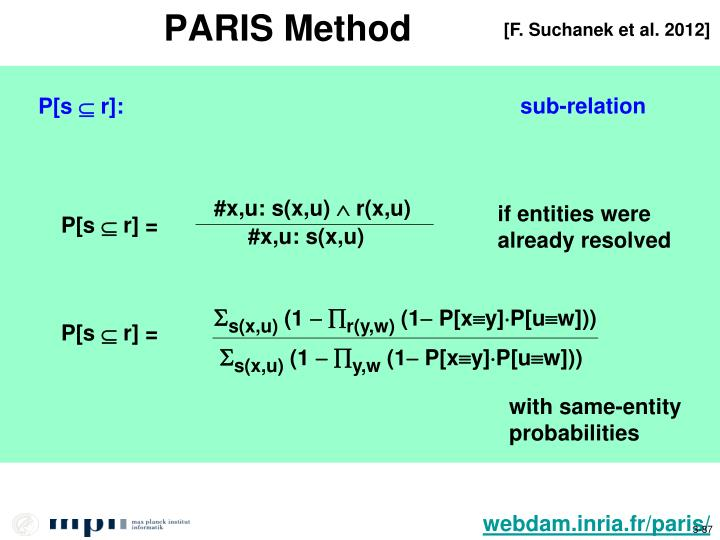 PARIS Method