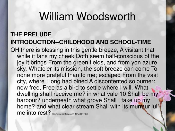William woodsworth