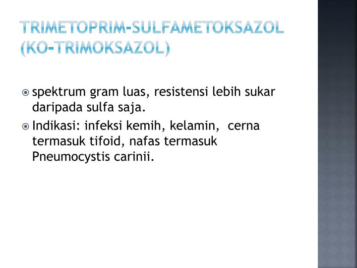 Trimetoprim-Sulfametoksazol (Ko-trimoksazol)