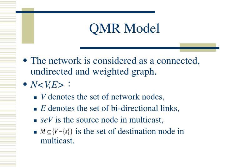 QMR Model