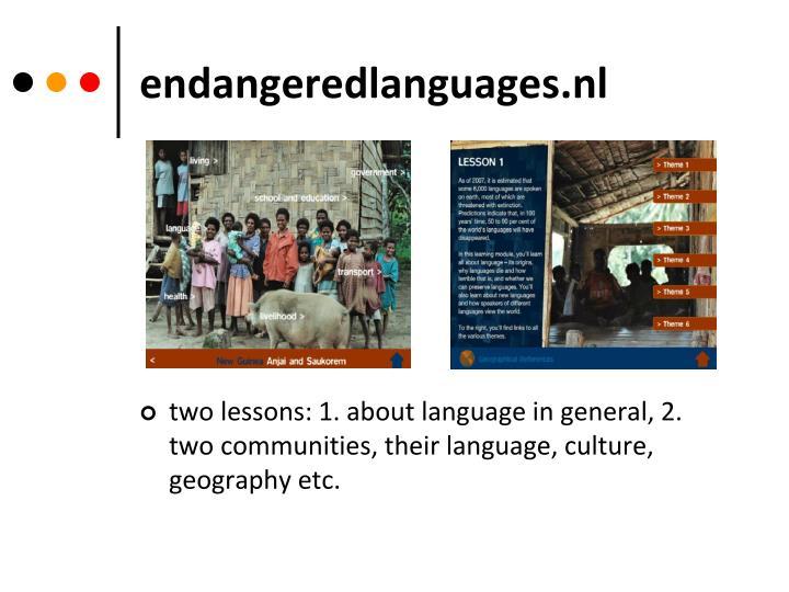 endangeredlanguages.nl