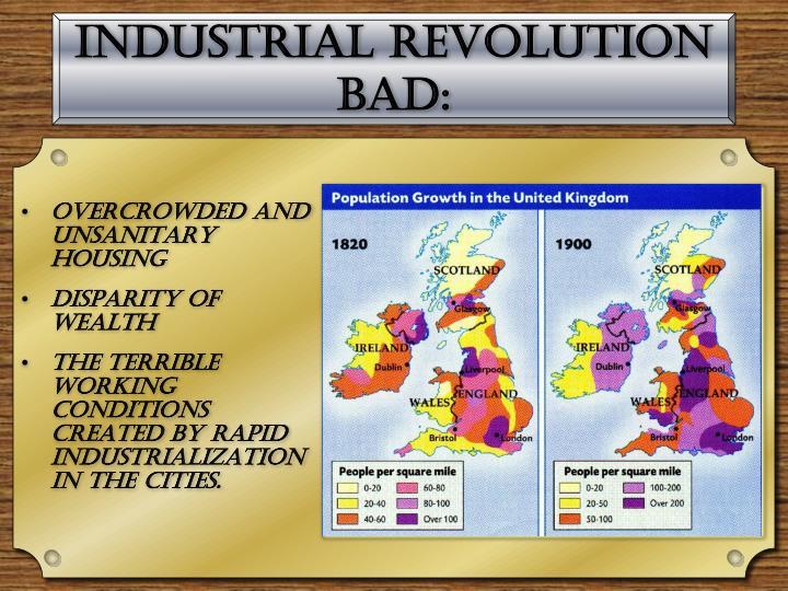 Industrial Revolution Bad: