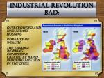 industrial revolution bad