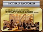 modern factories