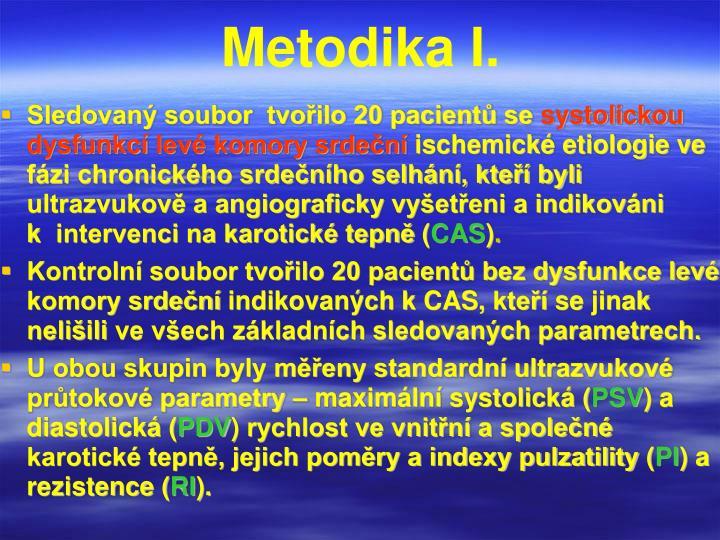 Metodika I.