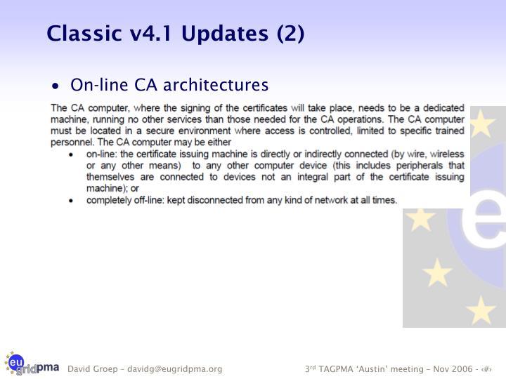 Classic v4.1 Updates (2)