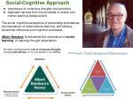 social cognitive approach