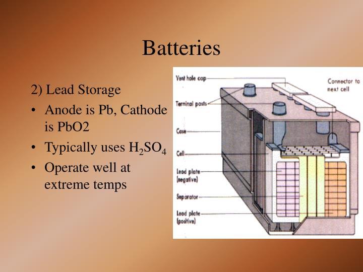 2) Lead Storage