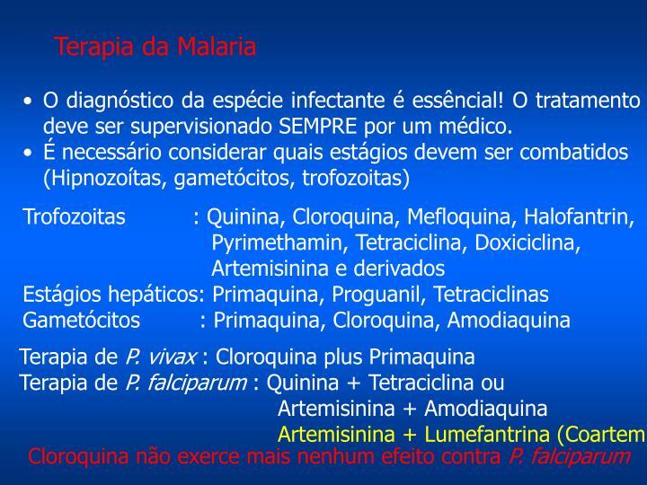 Terapia da Malaria