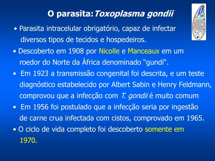 O parasita: