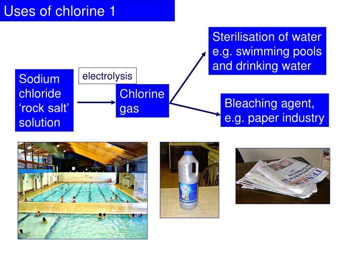 Sterilisation of water