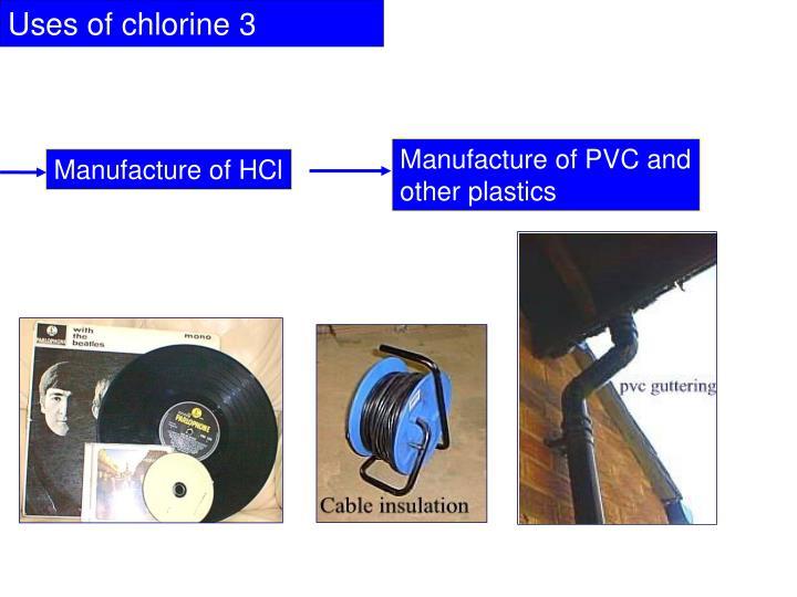 Uses of chlorine 3
