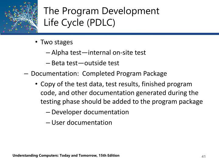 The Program Development
