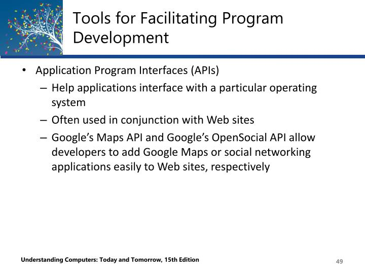 Tools for Facilitating Program Development