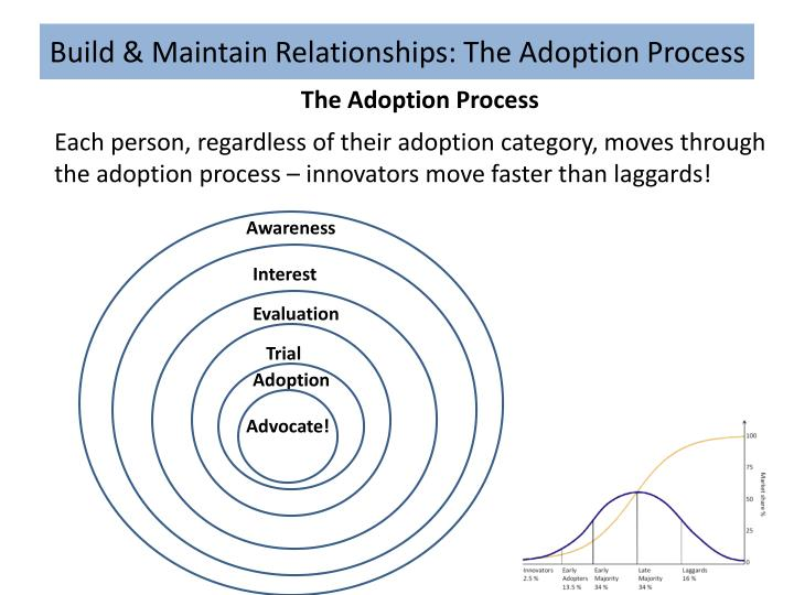 Build & Maintain Relationships: The Adoption Process
