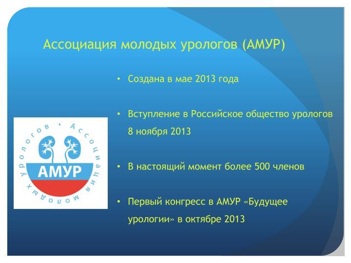 Ассоциация молодых урологов (АМУР)