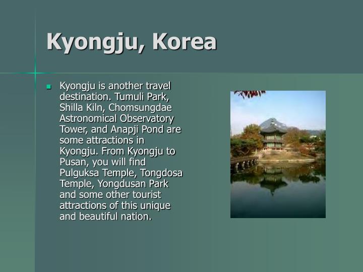 Kyongju, Korea