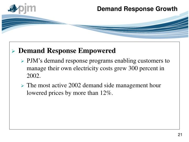 Demand Response Empowered