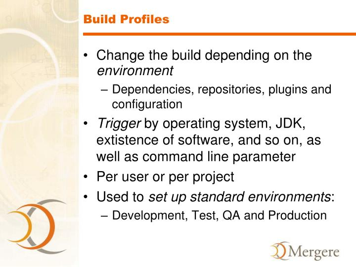 Build Profiles