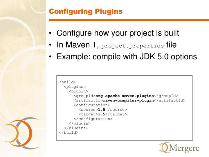 Configuring Plugins
