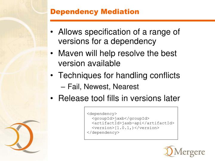 Dependency Mediation