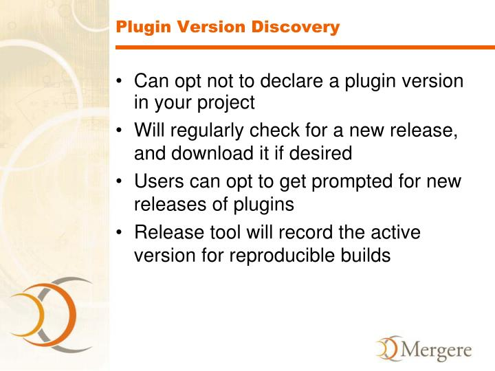 Plugin Version Discovery