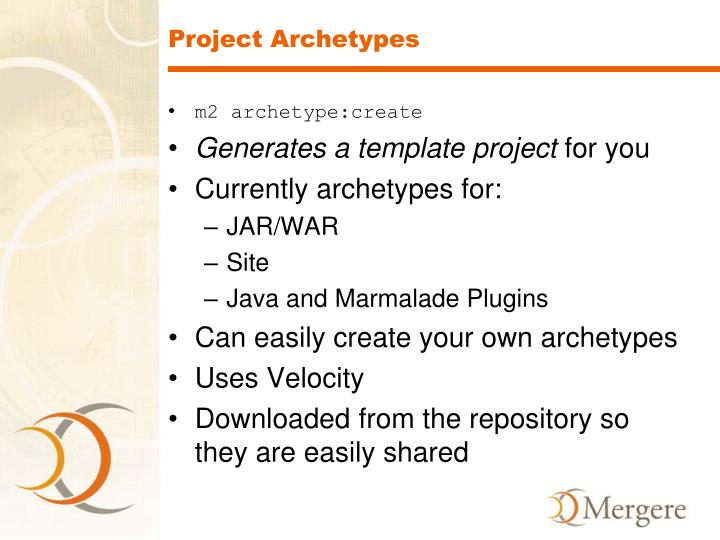 Project Archetypes