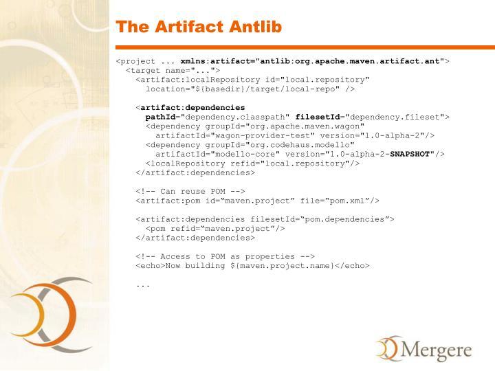 The Artifact Antlib