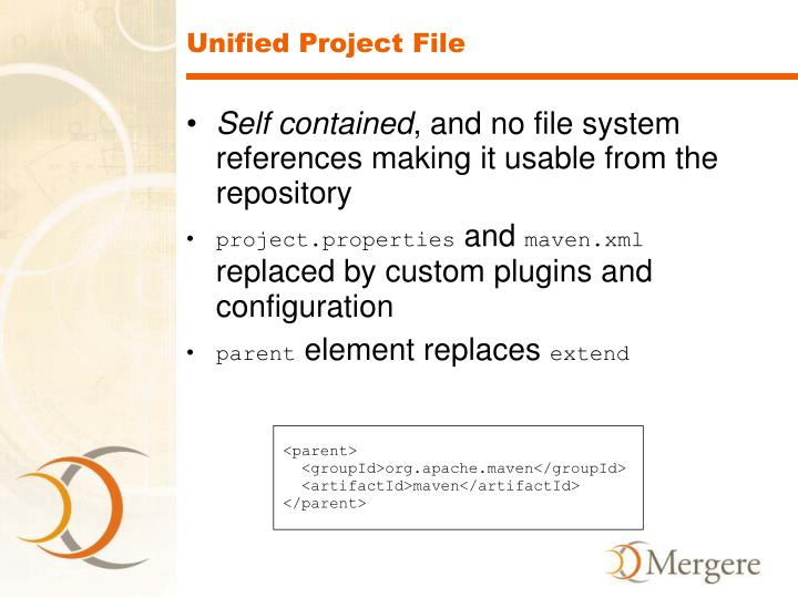Unified Project File