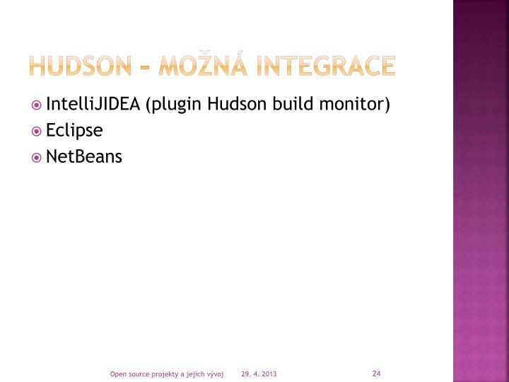 Hudson – možná integrace