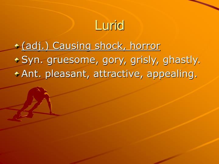 Lurid
