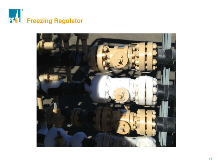 Freezing Regulator