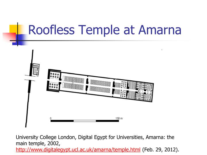 Roofless Temple at Amarna