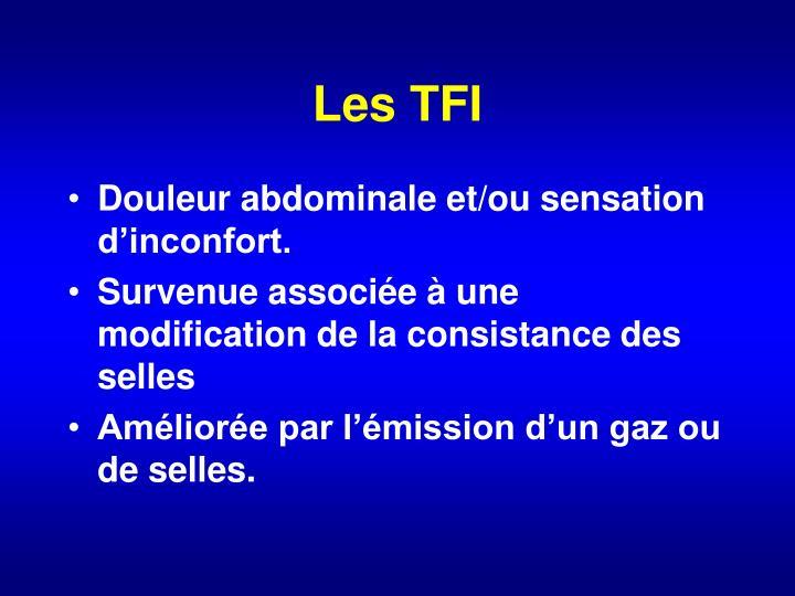 Les TFI