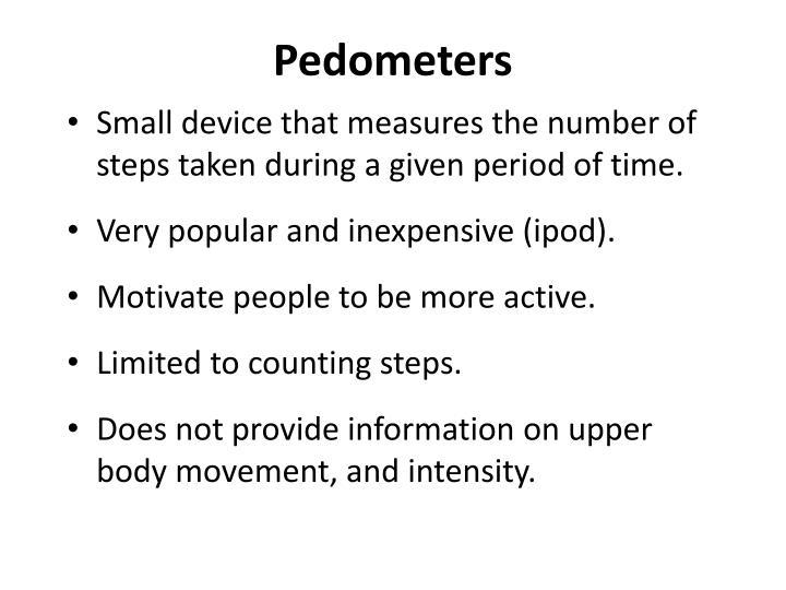Pedometers