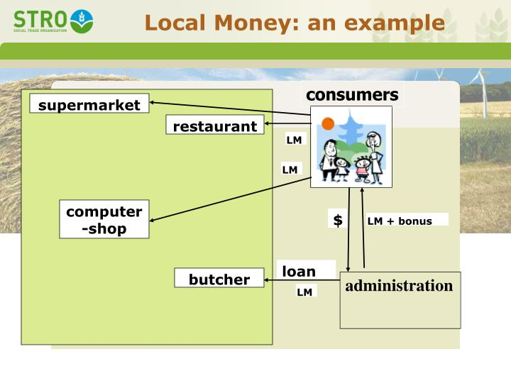 Local Money: an example