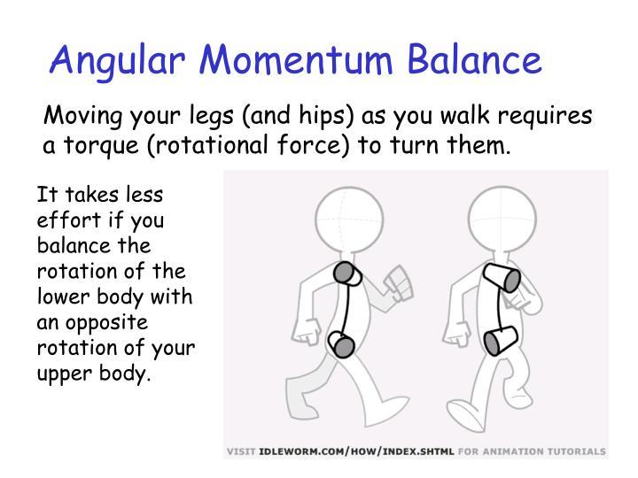 Angular Momentum Balance