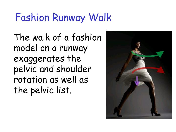Fashion Runway Walk