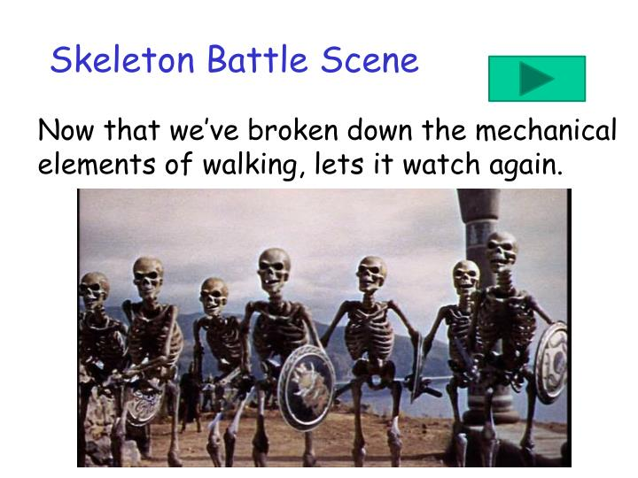Skeleton Battle Scene
