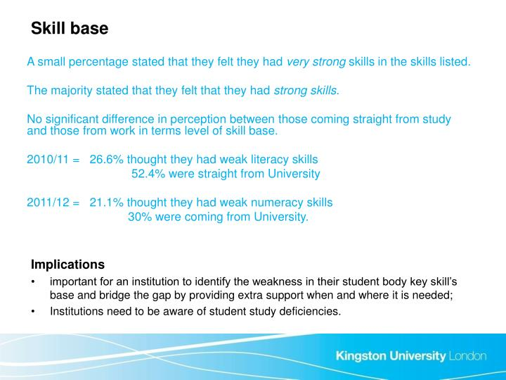 Skill base