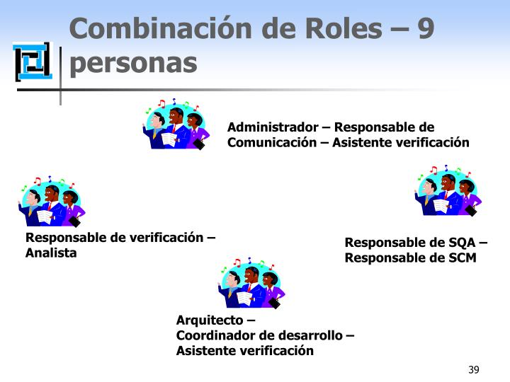 Responsable de verificación –