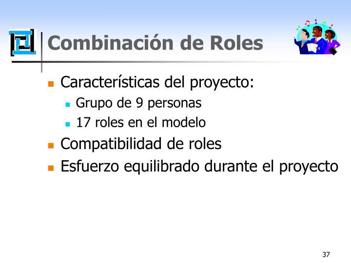 Combinación de Roles