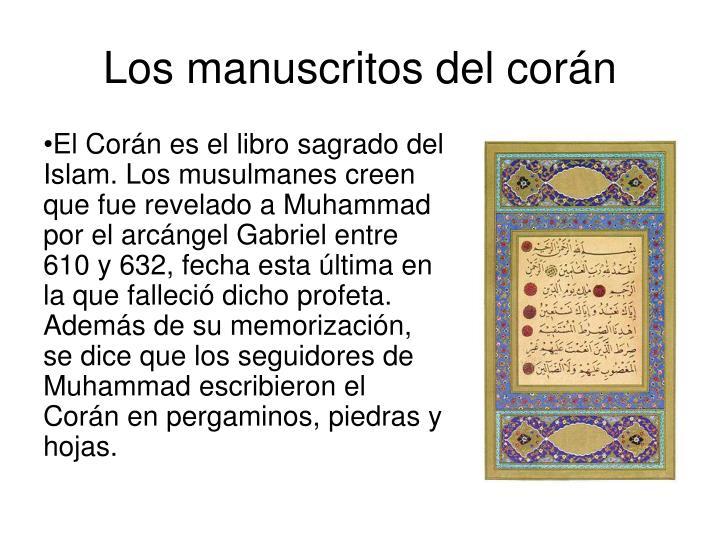Los manuscritos del corán