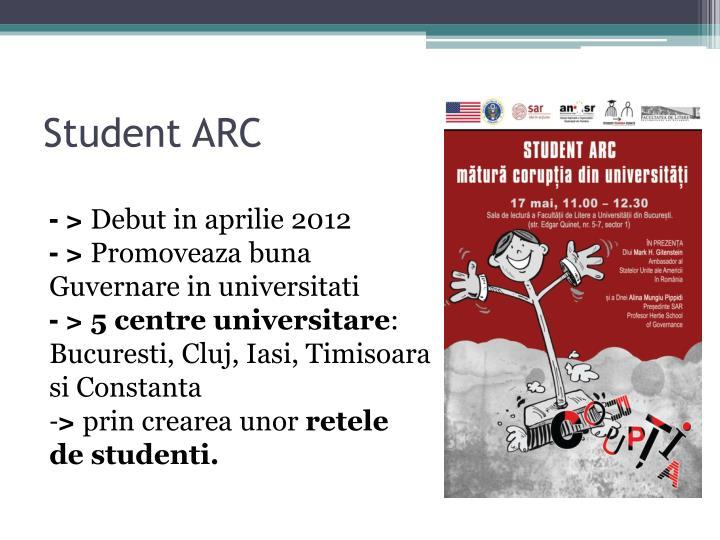Student ARC